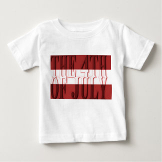 the 4th of july Baby Fine Jersey T-Shirt