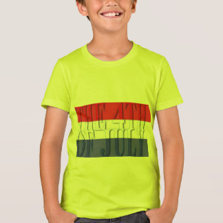 the 4th of July Kids' Bella+Canvas Crew T-Shirt