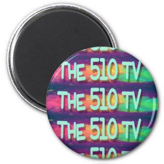 The 510 TV 6 Cm Round Magnet
