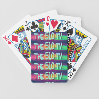 The 510 TV Bicycle Playing Cards