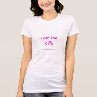 The 51 Percent T-Shirt  (CUSTOMIZABLE)