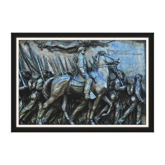The 54th Massachusetts Volunteer Infantry Regiment Canvas Prints