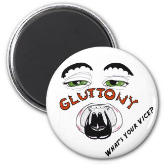 The 7 Deadlies — Gluttony 6 Cm Round Magnet