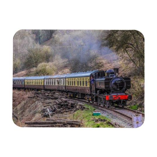 The '9681' Steam Train Magnet