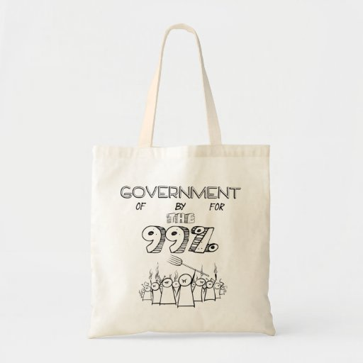 the 99% occupy wall street movement bag