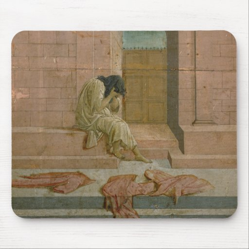 The Abandoned (oil on panel) Mousepad