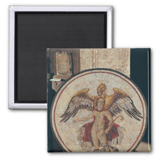 The Abduction of Ganymede, 2nd-3rd century Square Magnet