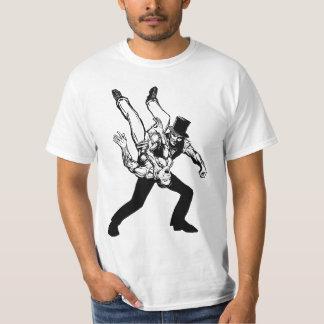 The Abraham Lincoln Chokeslam Light T-Shirt