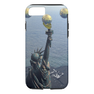 The Abstract New York Statue iPhone 7 Case