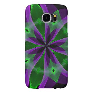 The abstract purple garden Samsung Galaxy S6 Case