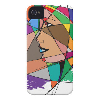The Abstract Woman iPhone 4 Case