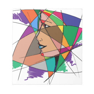 The Abstract Woman Notepad