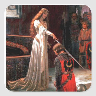 The Accolade - add your image Square Sticker