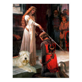 The Accolade - Wheaten Terrier 1 Postcard