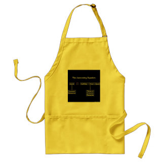 """The Accounting Equation"" Standard Apron"