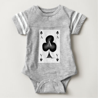 The Ace of Clubs by Tony Fernandes Baby Bodysuit