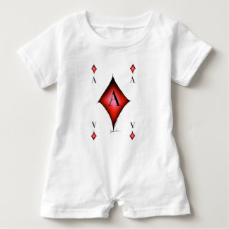 The Ace of Diamonds by Tony Fernandes Baby Bodysuit