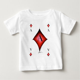 The Ace of Diamonds by Tony Fernandes Baby T-Shirt