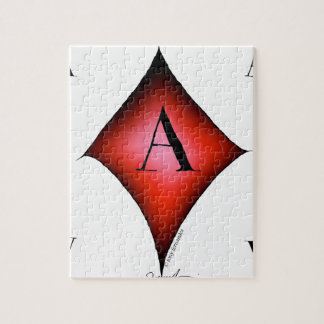 The Ace of Diamonds by Tony Fernandes Jigsaw Puzzle