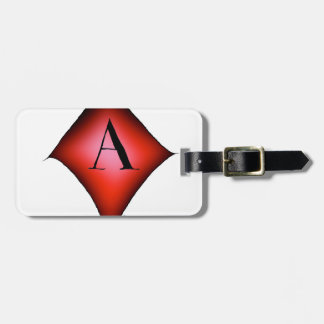 The Ace of Diamonds by Tony Fernandes Luggage Tag