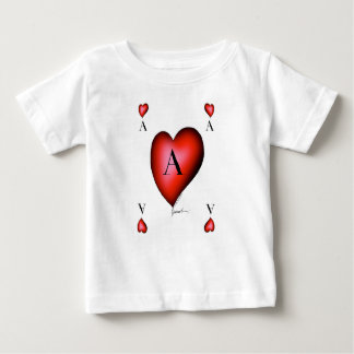 The Ace of Hearts by Tony Fernandes Baby T-Shirt