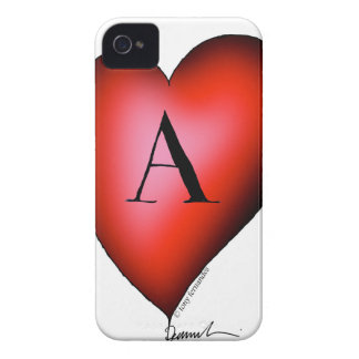 The Ace of Hearts by Tony Fernandes Case-Mate iPhone 4 Case