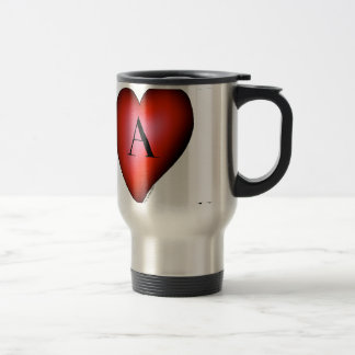 The Ace of Hearts by Tony Fernandes Travel Mug
