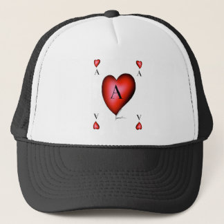 The Ace of Hearts by Tony Fernandes Trucker Hat