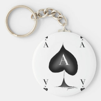 The Ace of Spades by Tony Fernandes Key Ring