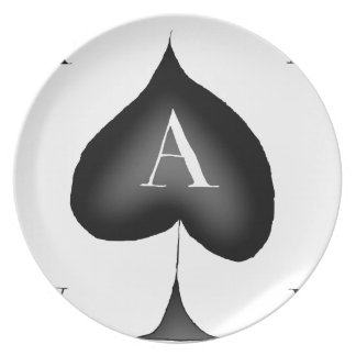 The Ace of Spades by Tony Fernandes Plate