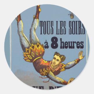 The Acrobat Classic Round Sticker