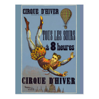 The Acrobat of the Cirque to d'Hiver - Postal Postcard