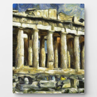 The Acropolis in Athens Plaque