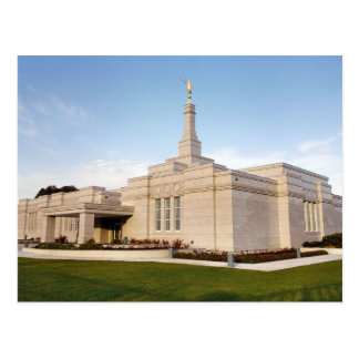 The Adelaide Australia LDS Temple Postcard