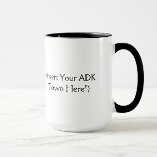 The Adirondacks are Calling - Insert Your ADK Town Mug