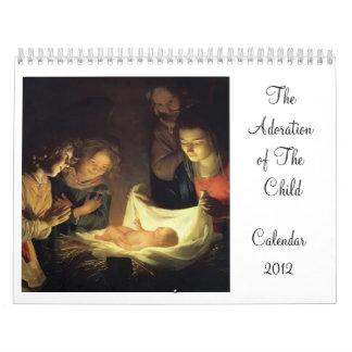 The Adoration of The Child Calendar