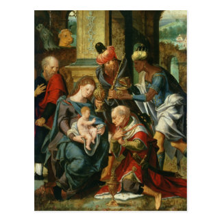 The Adoration of the Magi, 1530 Postcard