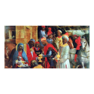 The Adoration Of The Magi By Foppa Vincenzo Photo Card Template
