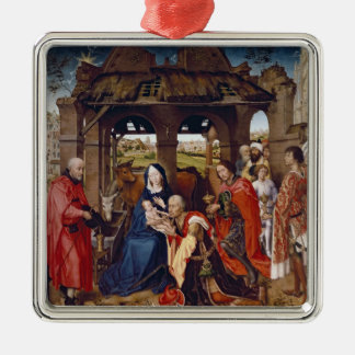 The Adoration of the Magi, c.1455 Metal Ornament