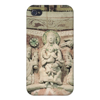 The Adoration of the Magi, column capital (stone) iPhone 4/4S Cases