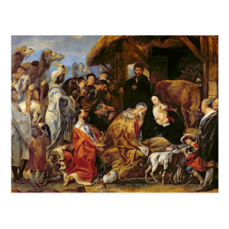 The Adoration of the Magi Postcard