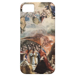 The Adoration of the Name of Jesus by El Greco iPhone 5 Cases