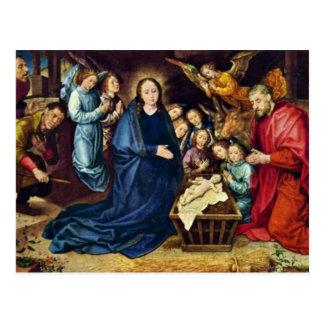 The Adoration Of The Shepherds By Goes Hugo Van De Postcard