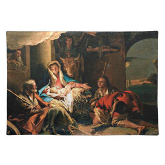 The Adoration of the Shepherds - Tiepolo Place Mats