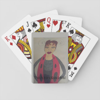 The Adrenalized Artist Ladybug Playing Cards