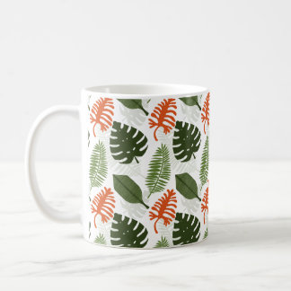 The Adventure in the Tropical Jungle Basic White Mug