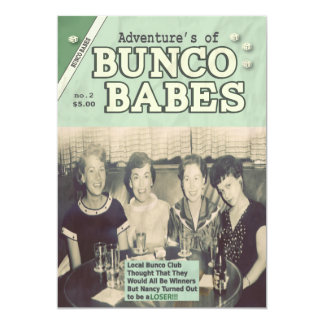 The Adventures of Bunco Babes Edition #2 Card