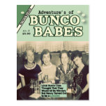 The Adventures of Bunco Babes Edition #2 Post Card