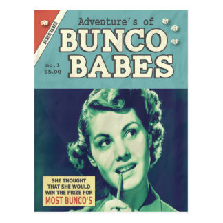 The Adventures of Bunco Babes Postcard