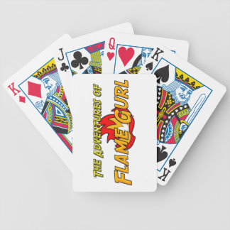 The Adventures of Flame Gurl Poker Deck